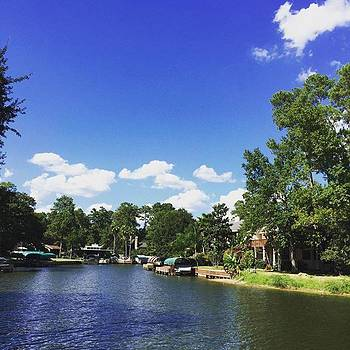 Lake Conroe #lake #texas #greatfriends by Gin Young