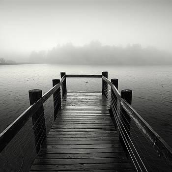 Lake Cuyamaca Fog by William Dunigan