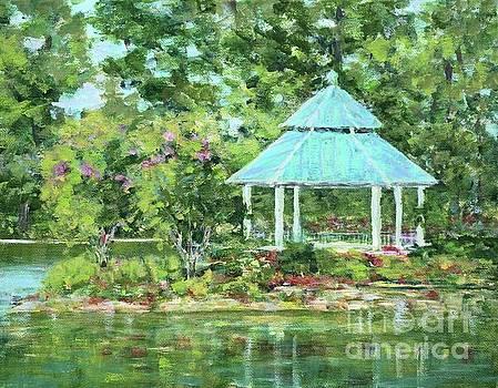 Lake Ella Gazebo by Gail Kent