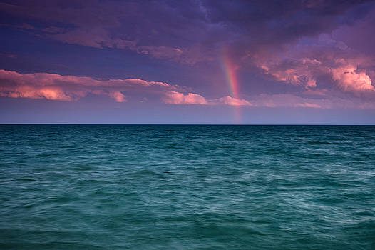 Lake Erie Rainbow by Cale Best