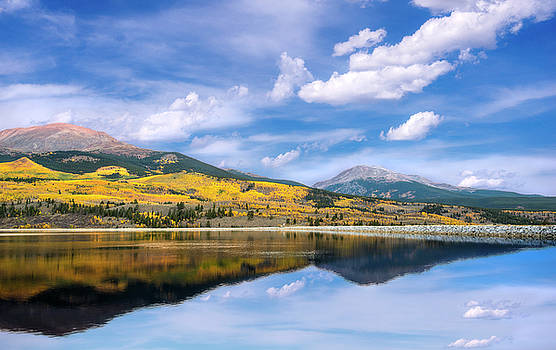 Lake Forebay Reflections by Tim Reaves