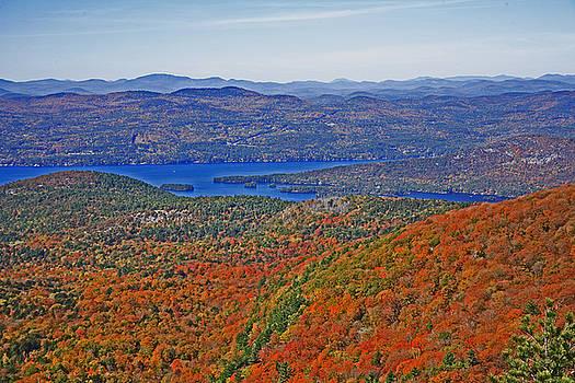 Lake George Mountain View by Reni Boisvert