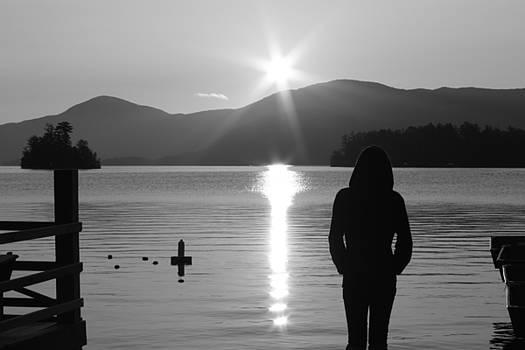 Lake George Sunrise by Deborah Ulrich