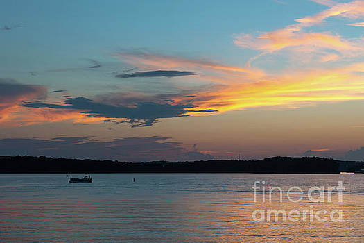 Lake Hartwell Sunset Wishes by Dale Powell