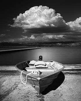 Lake Henshaw Boat by William Dunigan