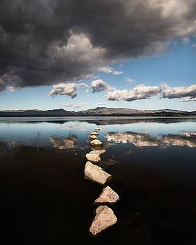 Lake Henshaw Clouds by William Dunigan