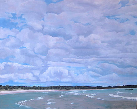 Lake Huron Sky by Joan McGivney