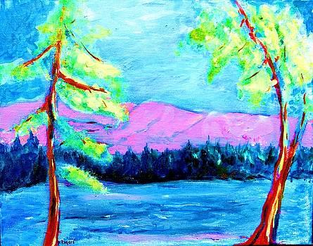 Lake Impressions by Lynn Rogers