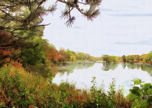 Lake Katherine In October by Cedric Hampton