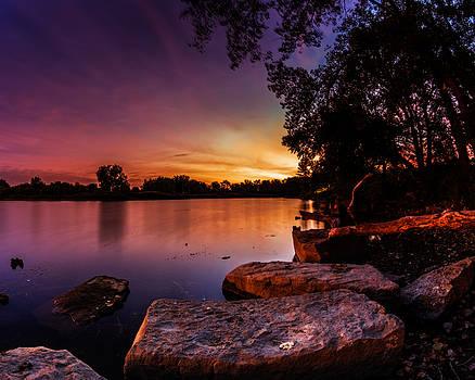 Chris Bordeleau - Lake Kirsty Twilight