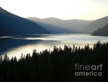 Cindy Murphy - NightVisions  - Lake Koocanusa  evening sun