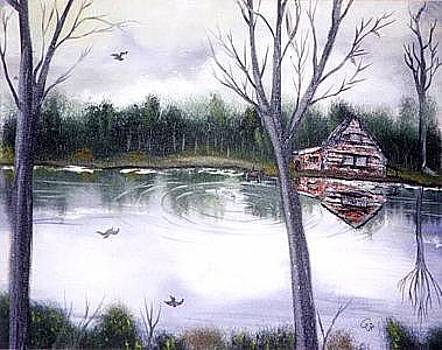 Lake La Luna by Pamela Benjamin
