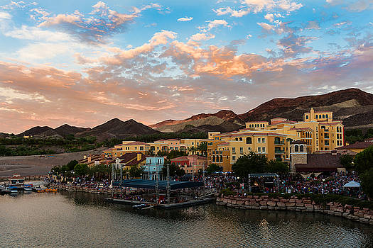 Lake Las Vegas by Arnold Despi