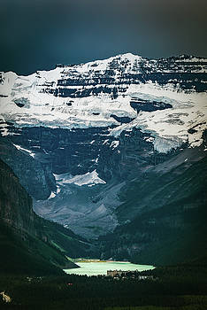 Lake Louise at distance by William Freebilly photography