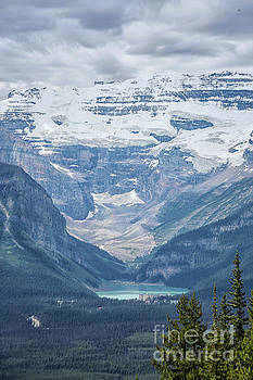 Lake Louise, Banff National Park, Alberta, Canada, North America by Patricia Hofmeester