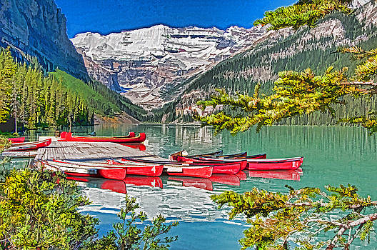 Dennis Cox WorldViews - Lake Louise