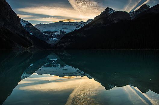 Jedediah Hohf - Lake Louise Sunset 2