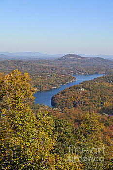 Jill Lang - Lake Lure in the Fall