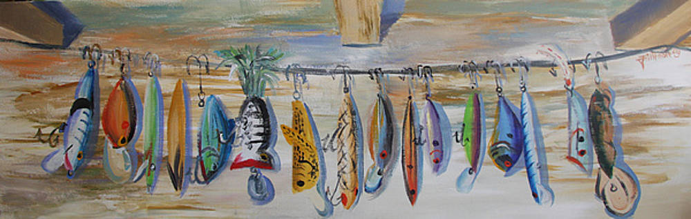 Lake Lures II by Jill Holt