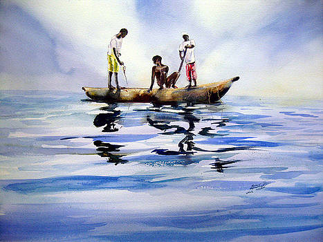 Lake Malawi by Shirley Roma Charlton