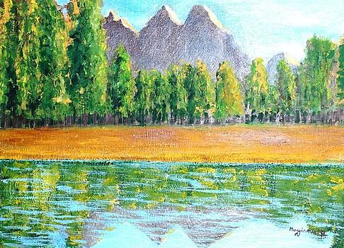 Lake by Mauro Beniamino Muggianu
