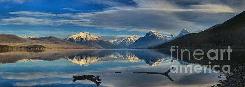 Adam Jewell - Lake McDonald Driftwood Panorama