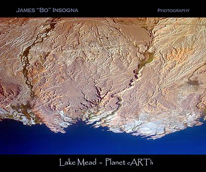 James BO  Insogna - Lake Mead - Planet Art