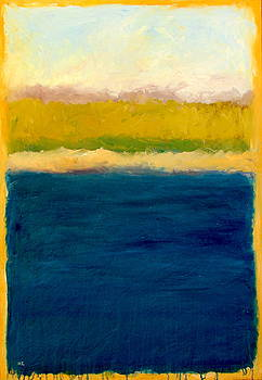 Michelle Calkins - Lake Michigan Beach Abstracted