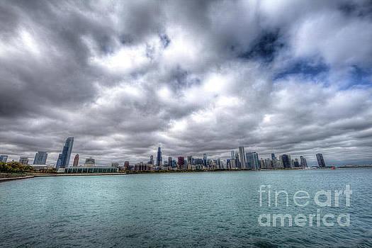 Wayne Moran - Lake Michigan Chicago Skyline