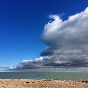 Lake Michigan Sky by Sarah Vandenbusch