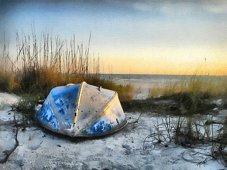 Lake Michigan Sunset by Tom Schmidt
