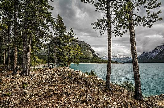 Lake Minnewanka by Karl Anderson