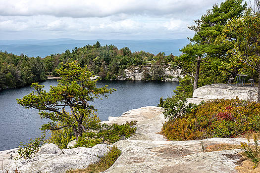 Lake Minnewaska View by Andrew Kazmierski