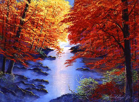 David Lloyd Glover - Lake Mist in Autumn