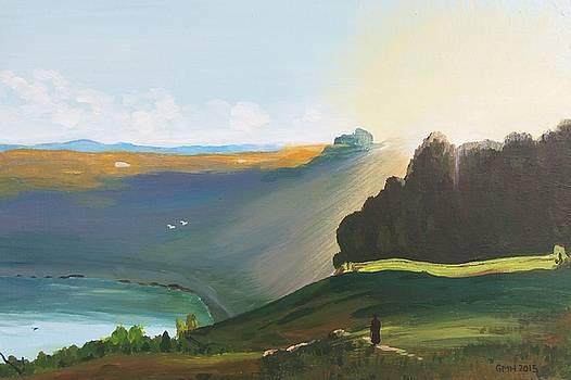 Lake Nemi by Glenn Harden
