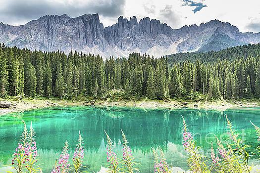 Lake of Carezza - Italy by Pier Giorgio Mariani
