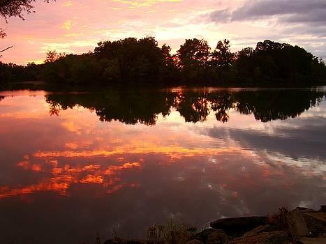 Lake Of Flames by J R Seymour