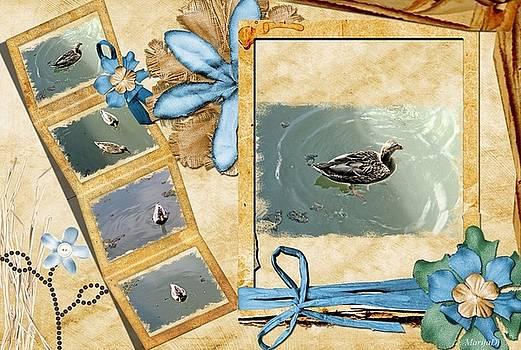 Lake postcard by Marija Djedovic