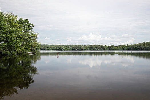 Lake Potanipo in Brookline, New Hampshire by New England Photographic