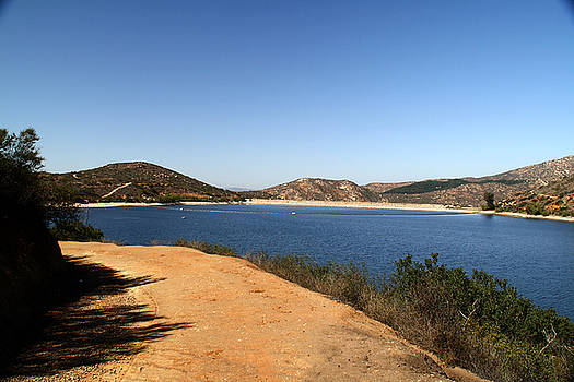 Lake Poway California by Christopher Woods