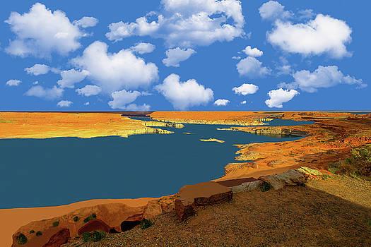 Lake Powell 2 by Kay Kochenderfer