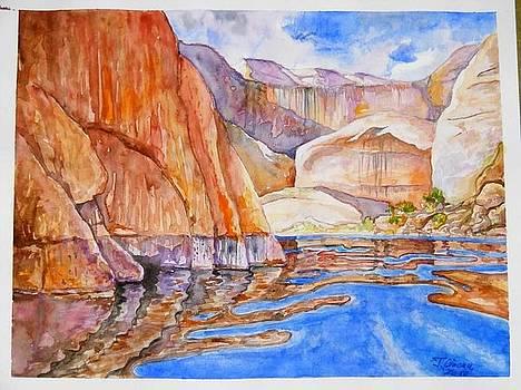 Lake Powell Cliffs by Ciocan Tudor-cosmin