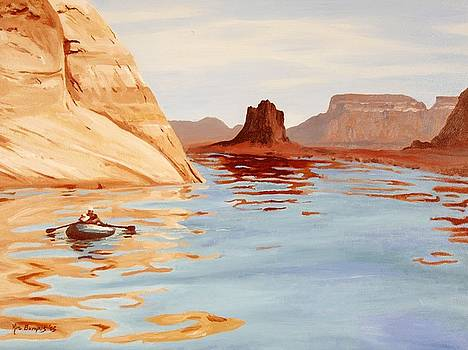 Lake Powell by Kim Lucianovic