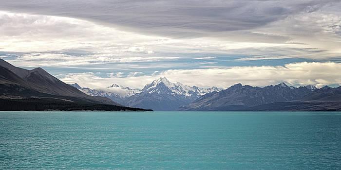 Lake Pukaki and Mt. Cook by Martin Wackenhut