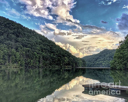 Lake Reflections by Kerri Farley