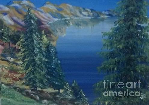 Lake by Saundra Johnson