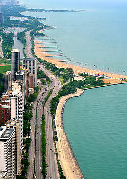 Lake Shore Dr . Chicago by Charles Bacon Jr