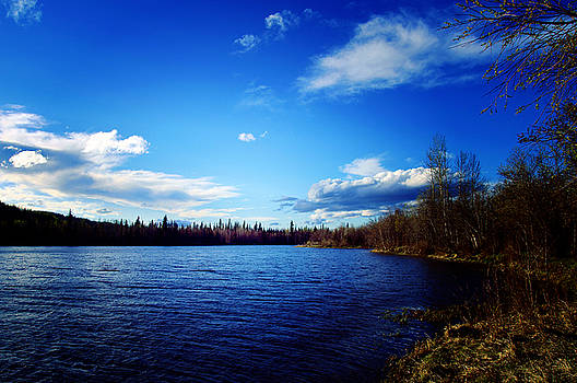 Lake Southern British Columbia by Robert Braley