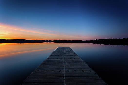 Lake sunrise by Dana Plourde