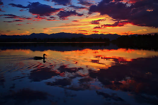 Lake Sunset by Brady Lane